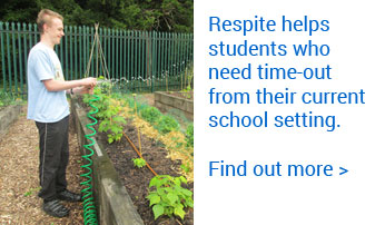 Respite helps students who need time-out from their current school setting. Find out more.